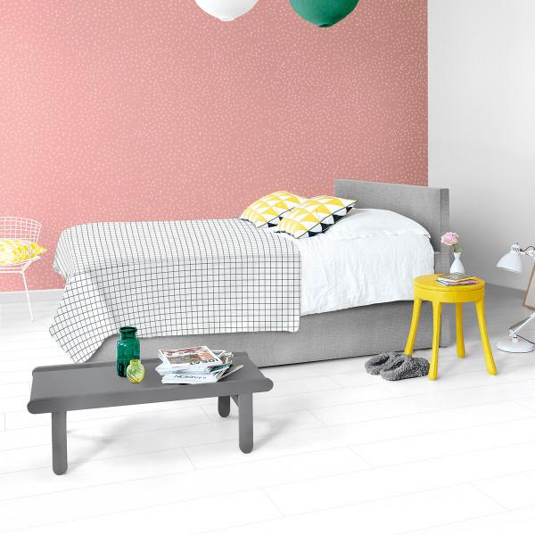Laminaat wit plank slaapkamer